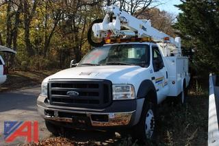 2007 Ford F550 XL Super Duty Utility/Bucket Truck