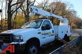 2003 Ford F550 XL Super Duty Utility/Boom Truck