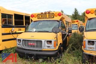 1999 GMC Savana 3500 Mini School Bus (Parts Only)