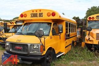 2001 GMC Savana 3500 Mini School Bus (Parts Only)