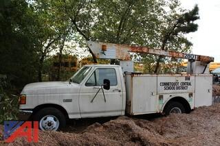 1988 Ford F350 Utility Bucket Truck (Parts Only)