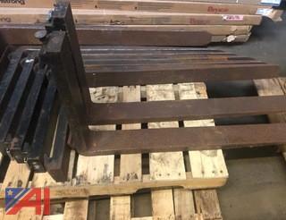(3) Sets of Forklift Forks