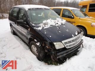 2002 Chevy Venture Mini Van