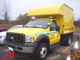 2007 Ford F550 Dump