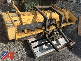 "Trackless 74"" Front Flail Mower"