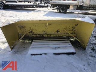 Custom Snow Pusher Blade for Skid Steer