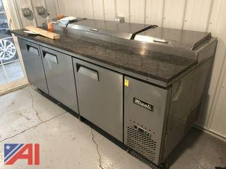 2015 Pizza Prep Table Refrigerator