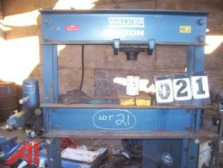 Walker 50 Ton Press