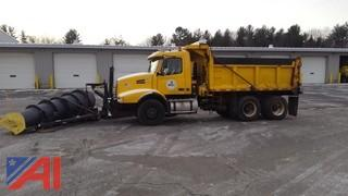 2003 Volvo VND Dump Truck with Plow and Wing