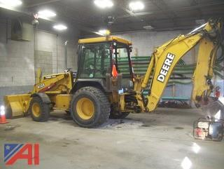 2000 John Deere 410E Loader Backhoe