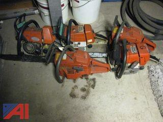 Husky and Stihl Chain Saws (Parts Only)