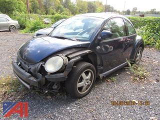2000 Volkswagen Beetle 2 Door