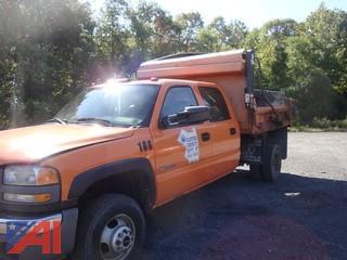 (1860) 2006 GMC Sierra 3500 Pickup Truck with Dump Body