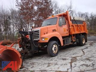 (2540) 2002 Sterling L9511 Dump Truck with Plow, Wing and Sander