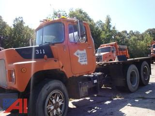 (3110) 1986 Mack DM686SX Cab & Chassis