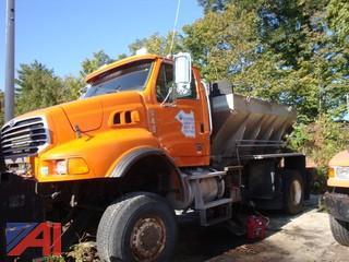 (4480) 2008 Sterling LT9500 Truck with Plow, Wing and Sander
