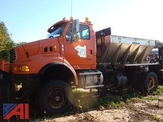 (4520) 2009 Sterling L9500 Truck with Sander