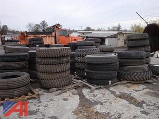 Assorted Lot of New & Used Tires