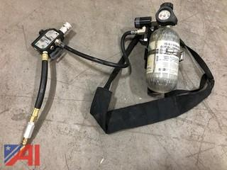 Breathable Air Tanks, Masks & Regulators