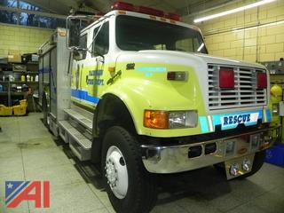 1996 International 4800 Rescue Truck