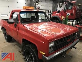 **UPDATED** 1986 Chevy Blazer Pickup Truck