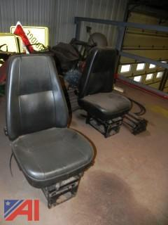 Bostrom T915 Air Ride Truck Seats in Black Vinyl