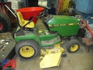 """(#6) 1992 48"""" John Deere 240 Tractor"""