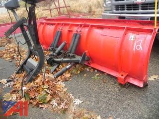 (#12) 8' Western Plow, Uni-mount (#54)