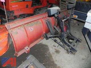 (#13) 8' Western Plow, Uni-mount