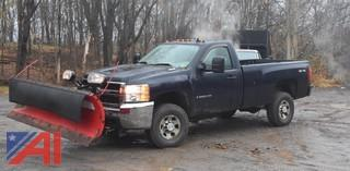 2008 Chevy Silverado 3500HD Pickup Truck with Plow