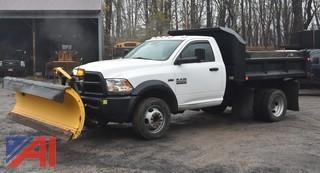 2014 Dodge Ram 5500 Dump w/ Plow