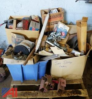 Lot Assorted Bus Parts