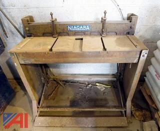 "Niagara 36"" Mild Steel Foot Shear"