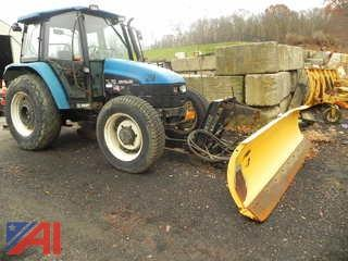 (#29)  2000 New Holland TL70 Tractor w/ Plow
