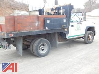 2007 GMC Sierra 3500 Flat Bed Truck