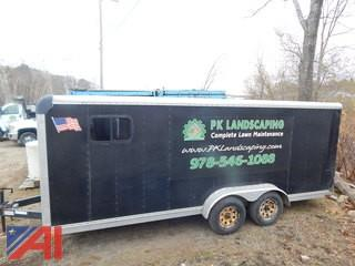 2000 Carmate 18' Utility Enclosed Trailer
