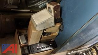 Radio Shack Stereo PA Amplifier & Speakers