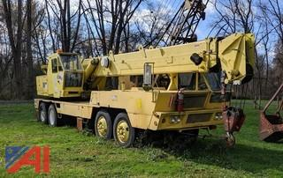 1976 P&H MT250 Telescopic Boom Crane