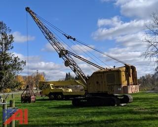 1970's Northwest Engineering 41 Lattuce Boom Crawler Crane