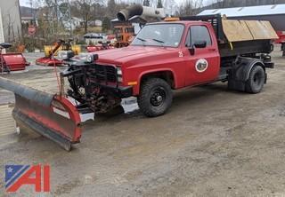 1986 Chevrolet C/K Series Dump Truck & Plow