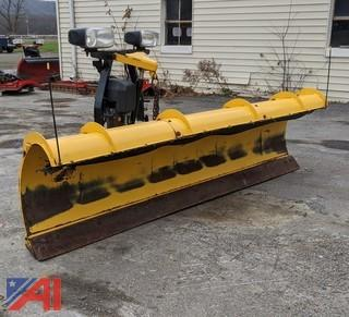 9' HD Fisher Minute Mount Plow