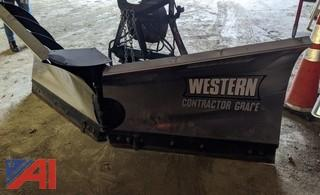 8.5' Western Stainless Steel V-Plow