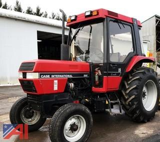 1991 Case 595 Tractor