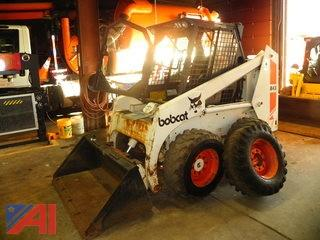 1989 Bobcat 843 Skidsteer