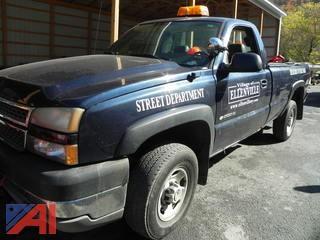 2005 Chevy Silverado 2500HD Pickup Truck