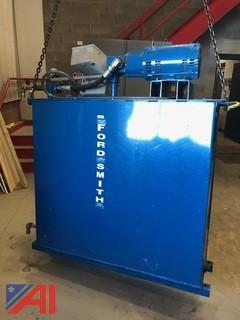 Floor Lift Hydraulic Tank and Pump