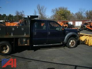 2010 Ford F-450 Truck with Plow