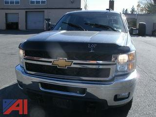 2014 Chevrolet Silverado 3500 HD LT Pickup Truck with Plow