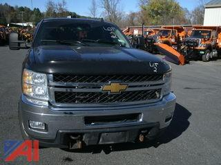 2012 Chevrolet Silverado 2500 LT Pickup Truck with Plow