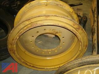 (2) John Deere Loader Rims